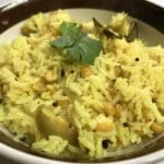 Chana Dal Pulao Instant Pot Pressure Cooker