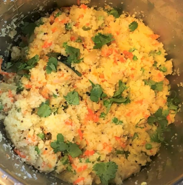 Rava Upma Prep Instant Pot Pressure Cooker