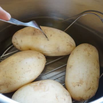 Steaming potatoes in Instant Pot Pressure Cooker
