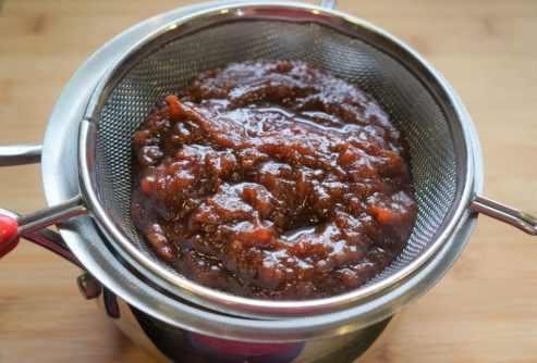 Tamarind Date Chutney Instant Pot Pressure Cooker - Sieve