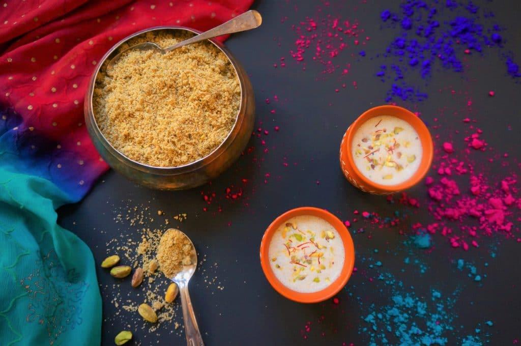 Thandai Recipe, Thandai Vitamix, How to make Thandai, Thandai
