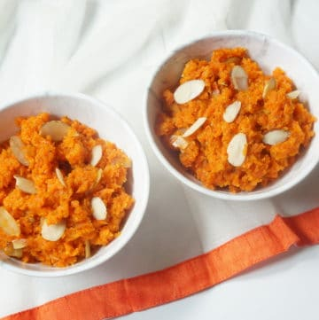 Instant Pot Carrot Halwa. Gajar ka Halwa 1