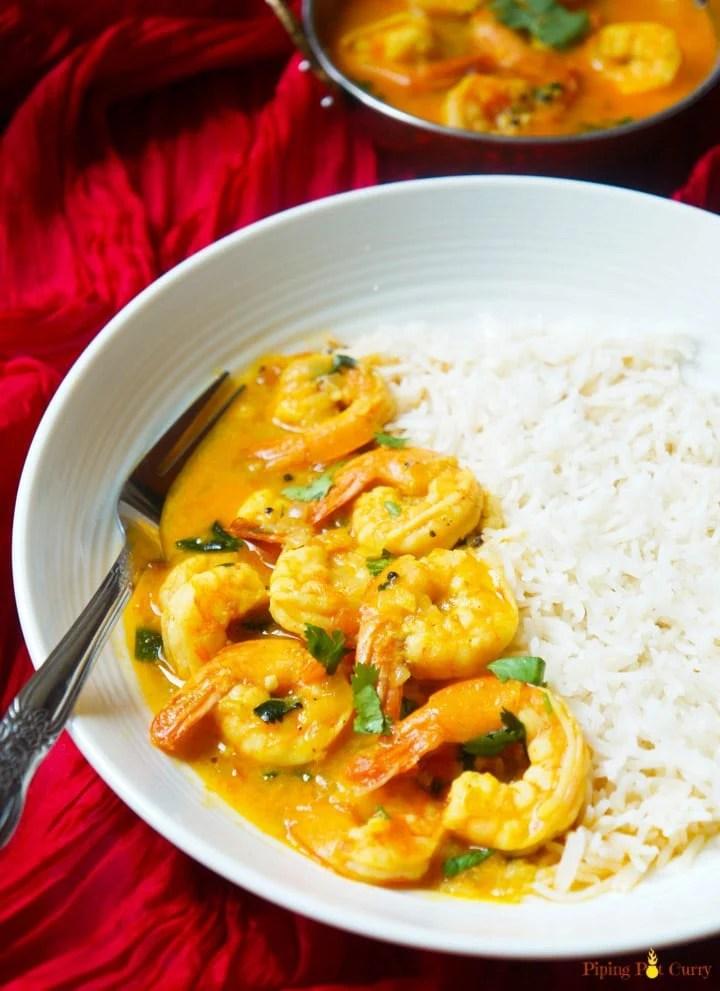Coconut Shrimp Curry Instant Pot