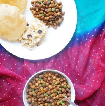 Kala Chana Dry Instant Pot