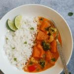 Thai Pumpkin Red Curry Instant Pot Pressure Cooker