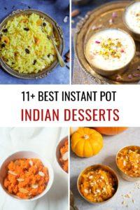 11+ Best Instant Pot Indian Desserts