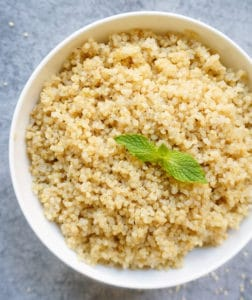 Instant Pot Quinoa with pip option