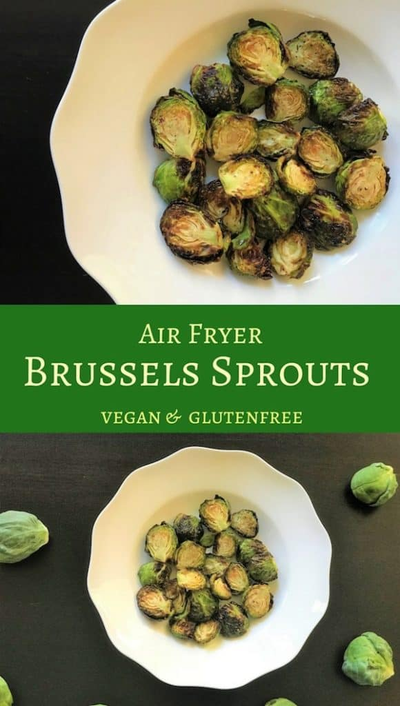 Not usual for a favorite, but these Air Fryer Brussels sprouts have become a favorite. Crispy on the outside and tender on the inside...yummy!