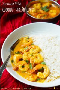Coconut Shrimp Curry Instant Pot Pressure Cooker