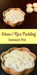 Kheer instant pot