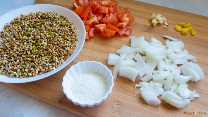 Misal Pav Instant Pot Ingredients