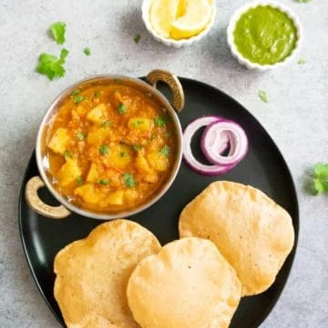 Instant Pot Potato Curry. Aloo Rasedar