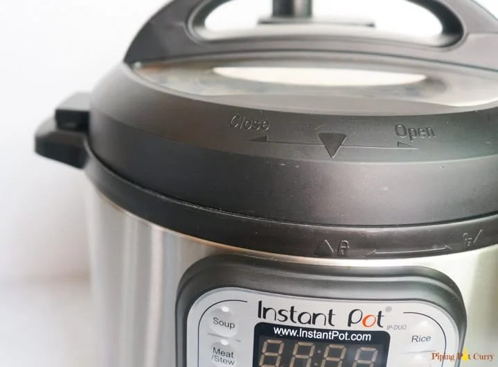 Instant Pot Setup - Lid locked