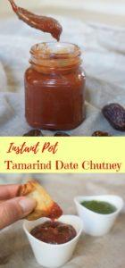 Tamarind Date Chutney Instant Pot Pressure Cooker