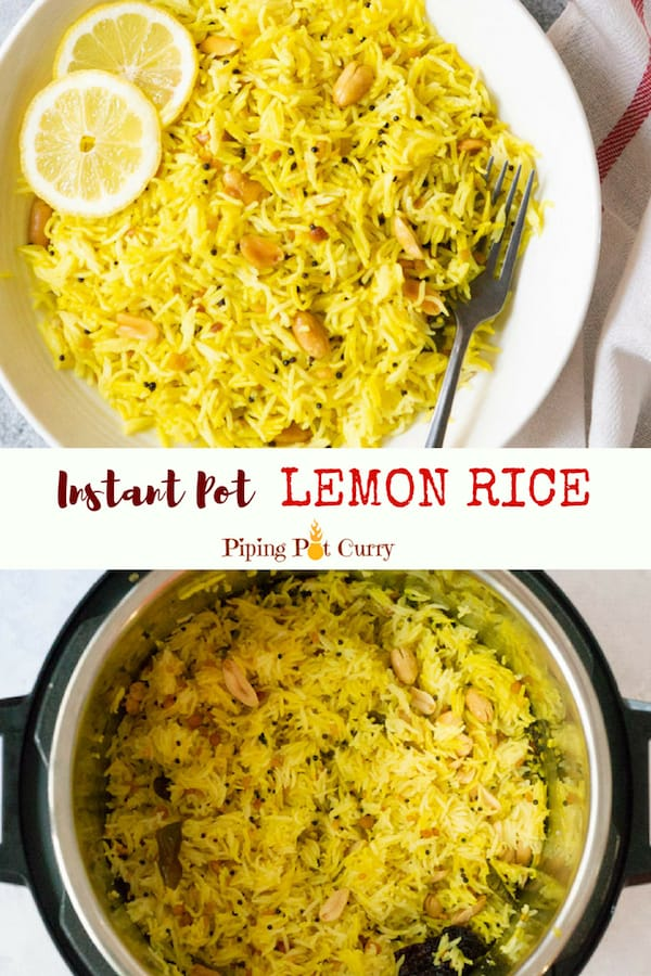 Instant Pot Lemon Rice