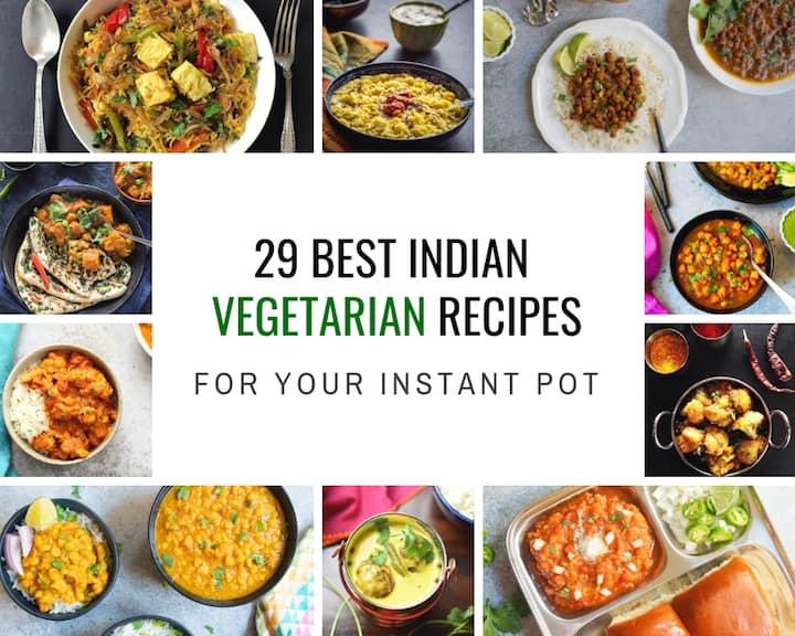 Best Instant Pot Indian Vegetarian Recipes Roundup
