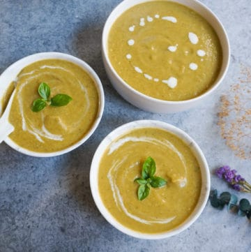Instant Pot Cream of Broccoli Soup