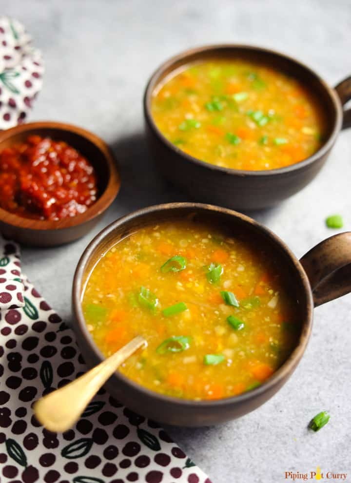 Sweet Corn Soup Instant Pot