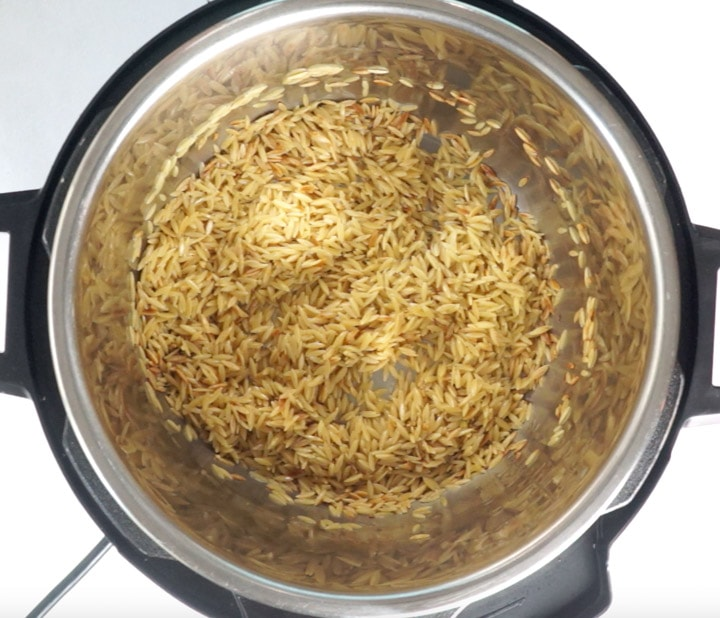 Orzo in instant pot