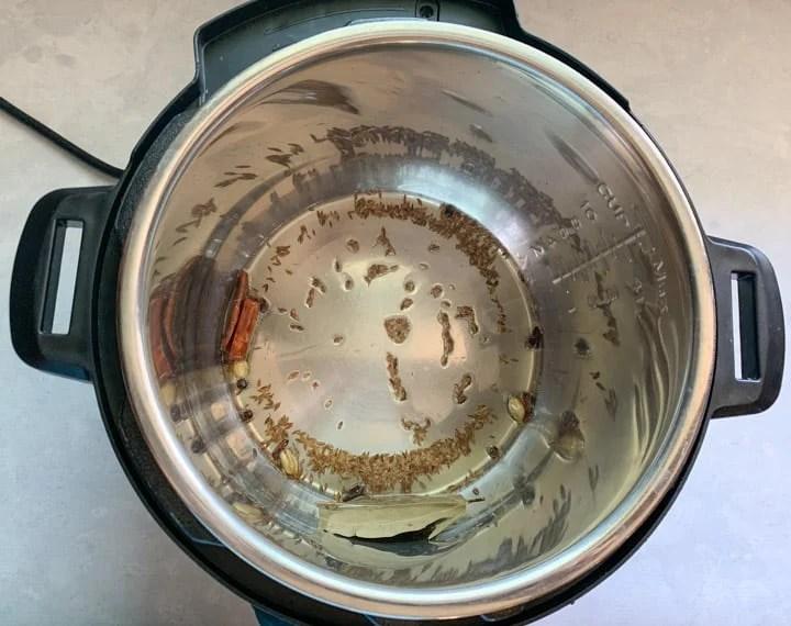 Tempering in instant pot