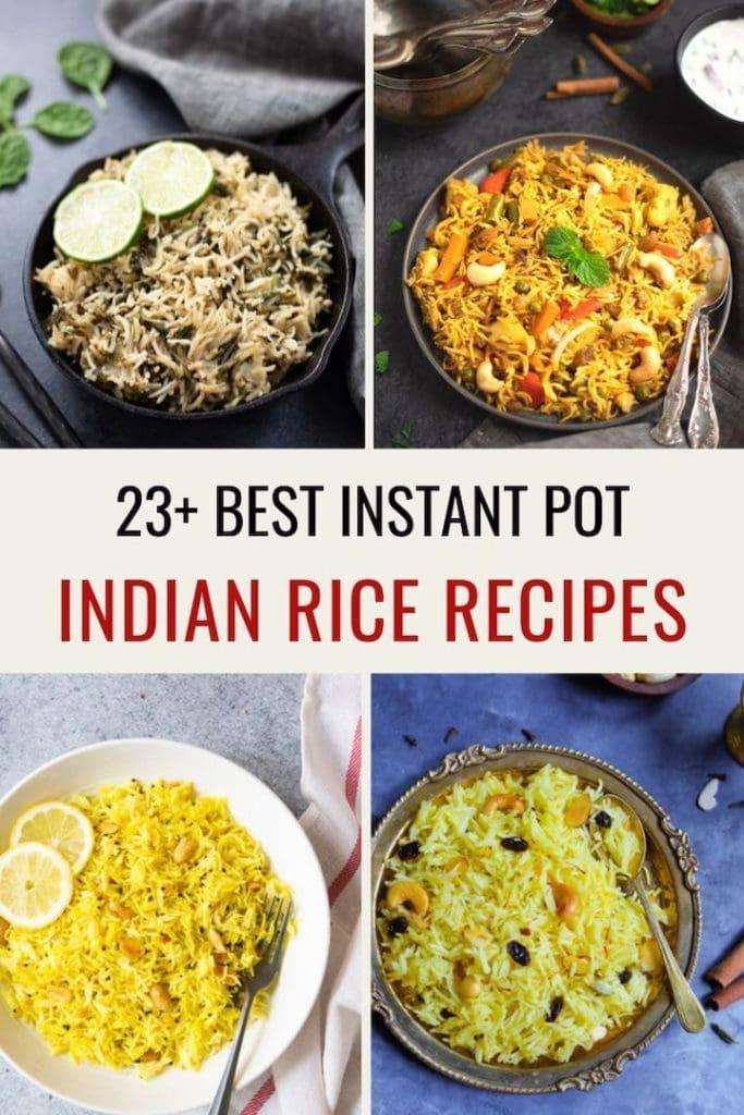 23+ Instant Pot Indian Rice Recipes