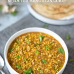 Vegan & Gluten Free Moong Bean Sprouts Curry