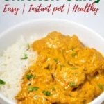 Easy Coconut Chicken Curry made in instant pot