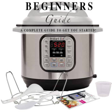 Beginners guide to instant pot