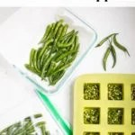 How to use and store green chili peppers