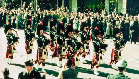 Black Watch Pipers (9)Colour