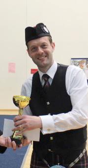 P/M Ross Cowan of North Lanarkshire Schools