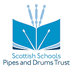 scottish schools pipes and drums trust logo