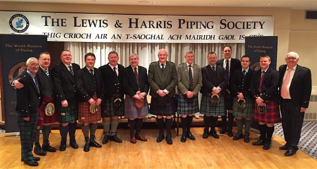 Pipers , judges and organisers