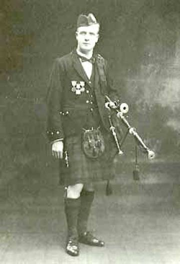 John Wilson, Edinburgh and Toronto, pictured in 1927