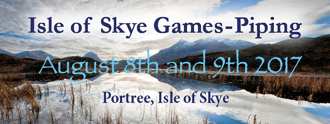 Skye Gathering Entry Details and Changes to Rules Announced