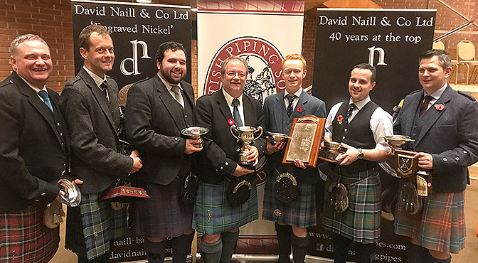 A Look Back at the London Championship 2017 and a Review of the B Grade Piobaireachd