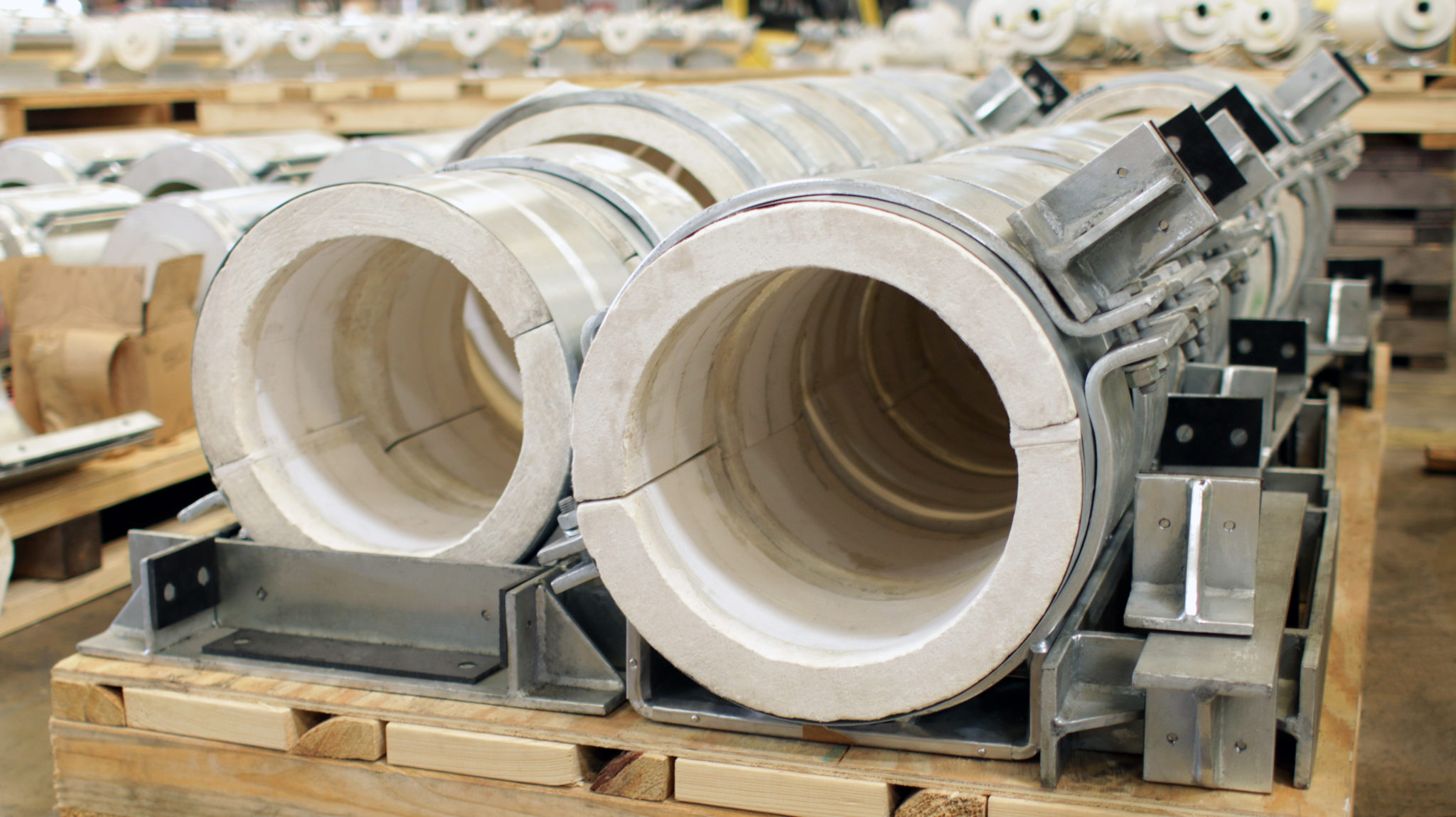 High Temperature Pipe Insulation Hot Shoes Products