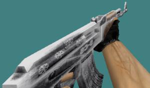 Counter Strike 1.6 skins pack (knife, deagle, ak47, m4a1, awp) Frosty set