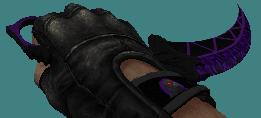 cs 1.6 knife karambit skins violet hawk