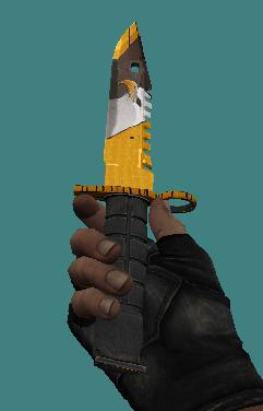 knife m9 eagle paint 2