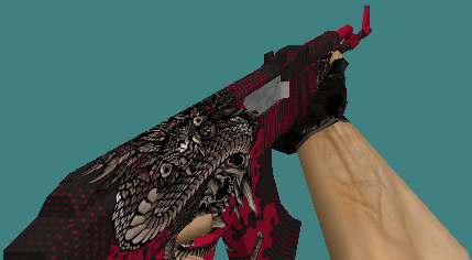 cs 1.6 ak-47 skins dark snake