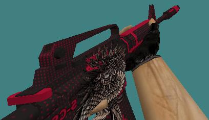 cs 1.6 m4a1 skins dark snake