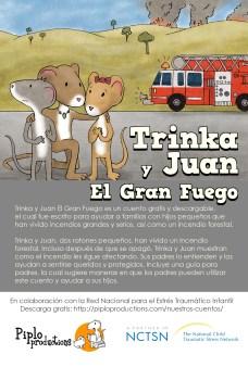 Postcard TrinkaSamFire spanish port.1.0