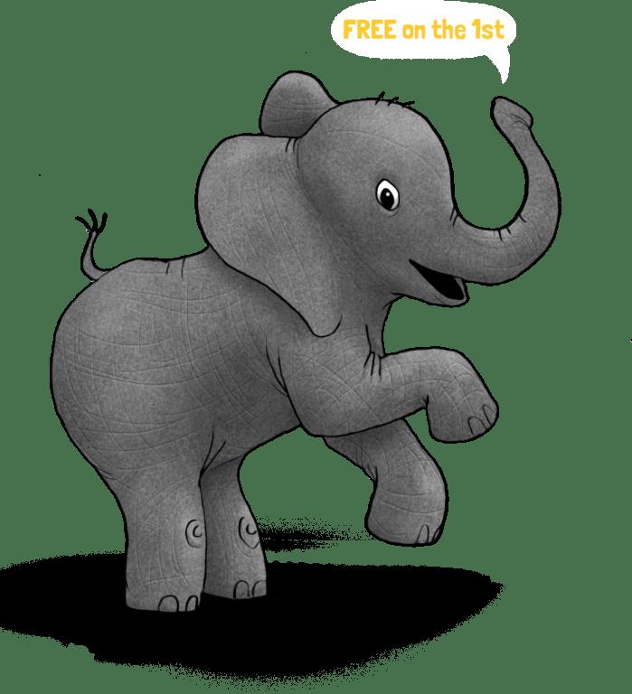ElephantHappy FreeOn1st