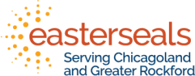 easterseals chicagoland and greater rockford logo
