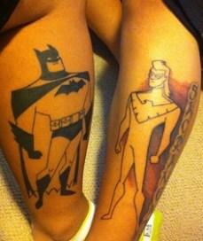 tatto batman night wing
