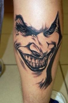 tattoo joker coringa