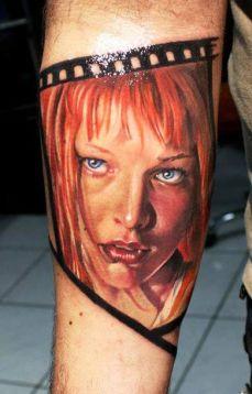tattoo braço fifth element