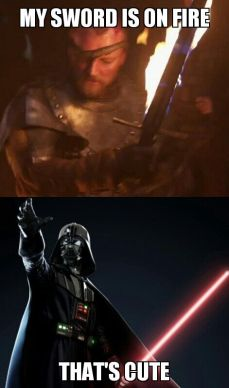 meme sw vs got darth vader