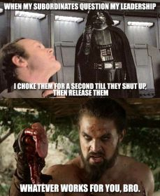 meme got vs sw darth vader kal drogo